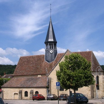 eglise saint amand de thomery