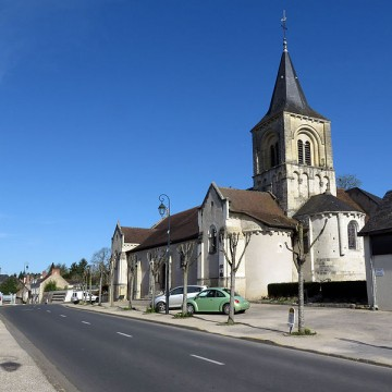 eglise saint martin d abilly