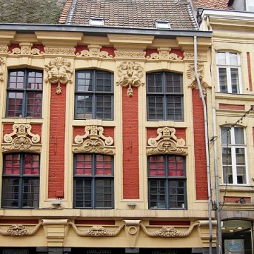 maisons rue lepelletier n°1 a 5 a lille
