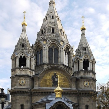 cathedrale saint alexandre nevsky a paris