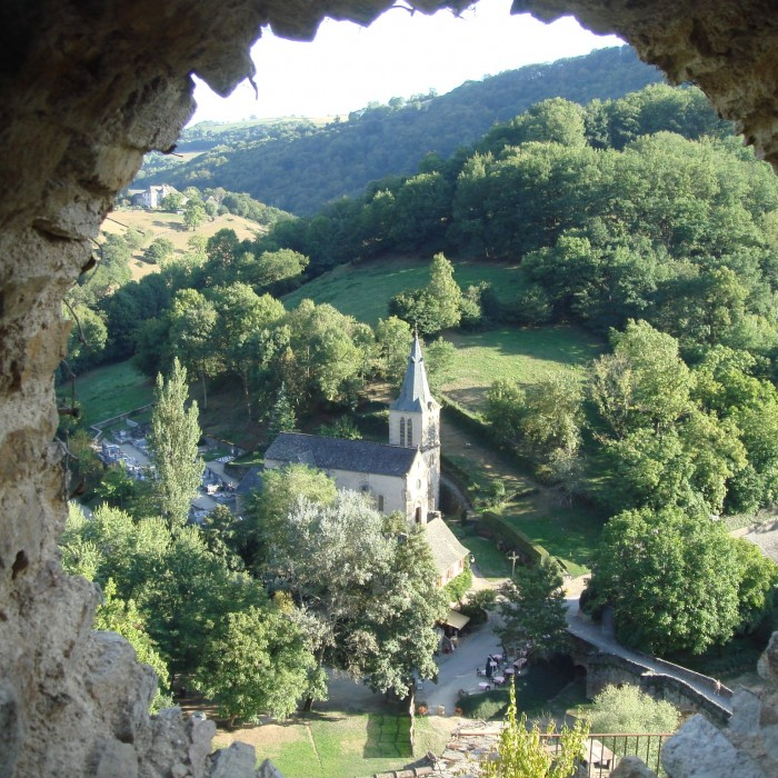 Photo de Belcastel : plus beau village de lAveyron