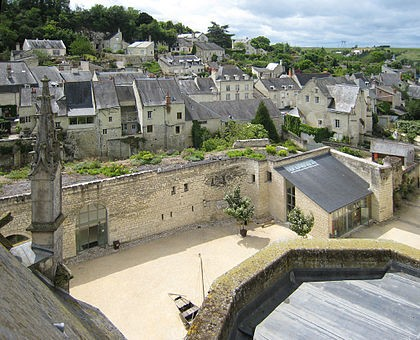 Photo de Montsoreau : plus beau village du Maine-et-Loire